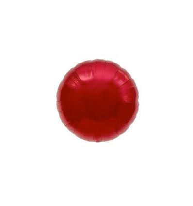 """Tondo 18"""" rosso"""