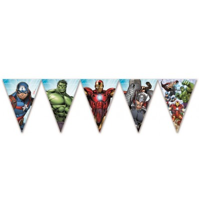 Festone Bandierine Avengers