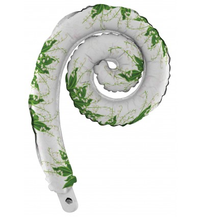 Pallone mylar spiral mughetto