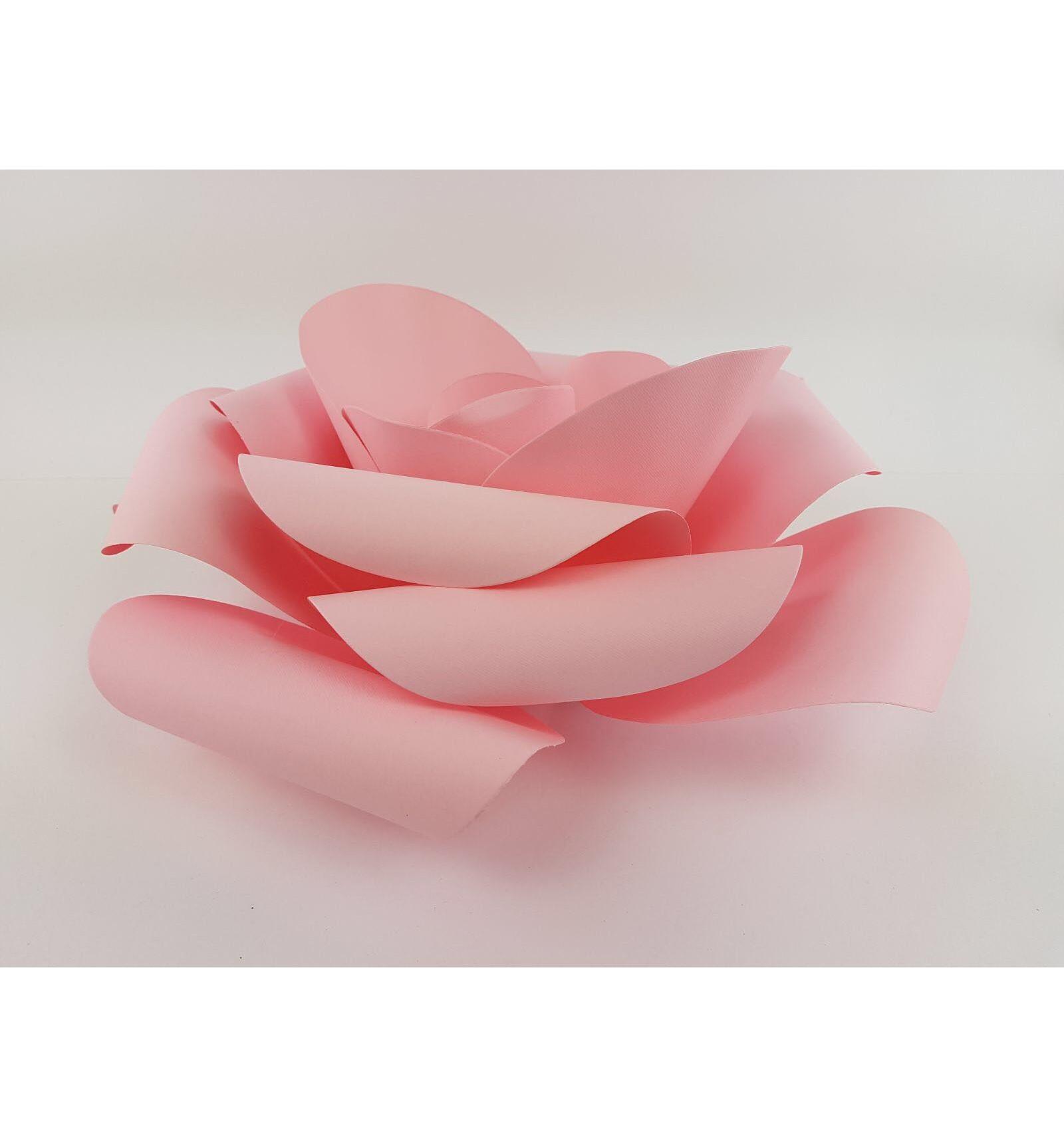 Fiori Di Carta.Fiore Di Carta Rosa Grande Ingrocartnew