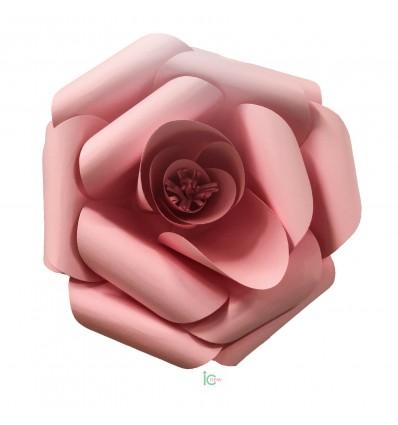Fiore di carta rosa