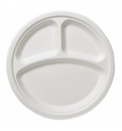 50 Bicchieri Biodegradabili bianchi