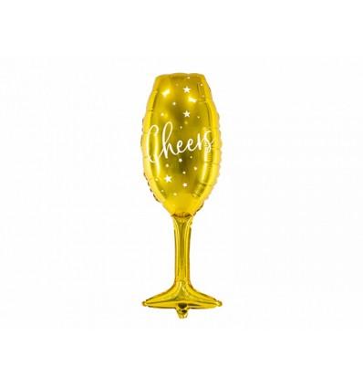 Palloncino Bottiglia Gold