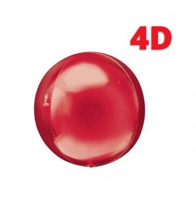 Palloncino oro sfera 4d 32 inch