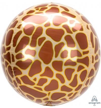 Palloncino sfera zebrato