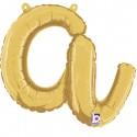 Lettere 14 inch corsivo in oro