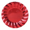 Wavy Red Metal